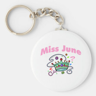 Miss June (2) Keychain