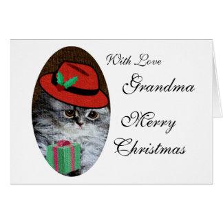 Miss Kitty Greeting Card