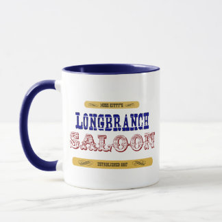 Miss Kitty's Long Branch Saloon Mug