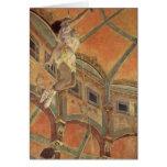 Miss Lala In A Circus Fernado By Edgar Degas Greeting Cards