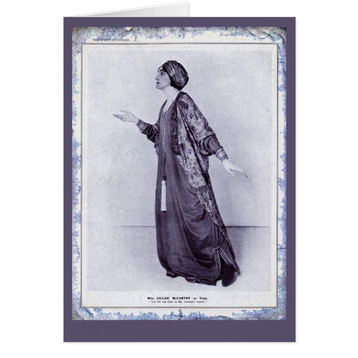 Miss Lillah McCarthy Card