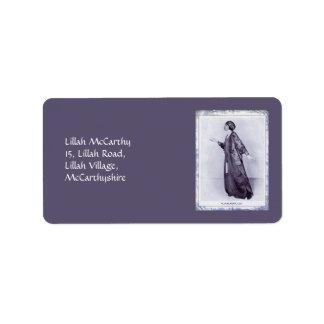 Miss Lillah McCarthy Label