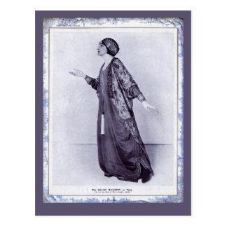 Miss Lillah McCarthy Postcard