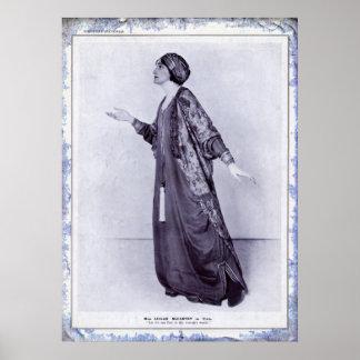 Miss Lillah McCarthy Print