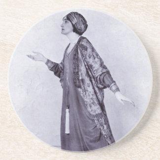 Miss Lillah McCarthy Sandstone Coaster