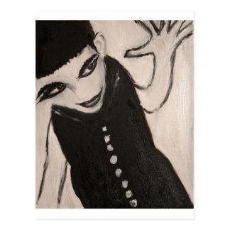 Miss LillyPat Postcard