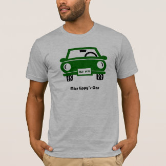 Miss Lippy's Car T-Shirt