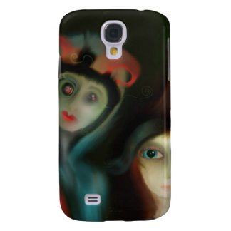 Miss Little Peeking in on you. Galaxy S4 Cover