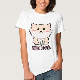 Miss Lottie The Pomeranian Women's- Violet LeBeaux T-shirt