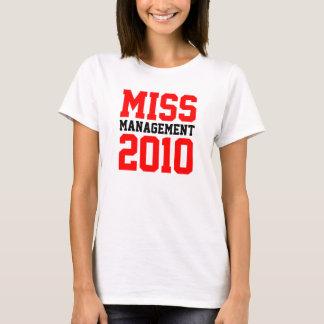 """""""Miss Management 2010"""" Lad. Sp. Top (Fit.) Templ."""