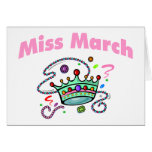 Miss March (2) Card