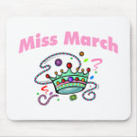 Miss March (2) Mouse Pad