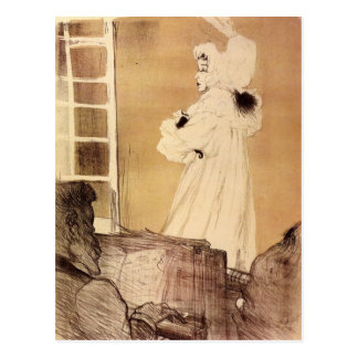 Miss Mary Belfort by Toulouse-Lautrec Postcard