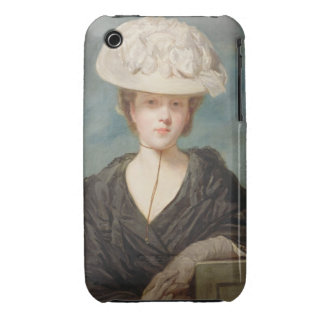 Miss Mary Hickey, 1770 (oil on canvas) iPhone 3 Covers