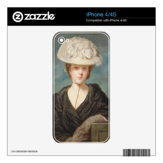 Miss Mary Hickey, 1770 (oil on canvas) iPhone 4S Decal