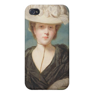 Miss Mary Hickey, 1770 (oil on canvas) Cases For iPhone 4