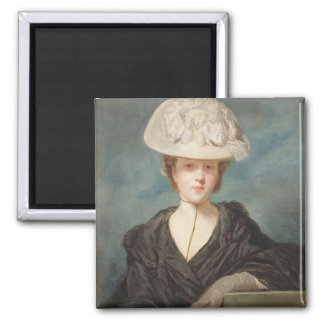 Miss Mary Hickey, 1770 (oil on canvas) Magnets