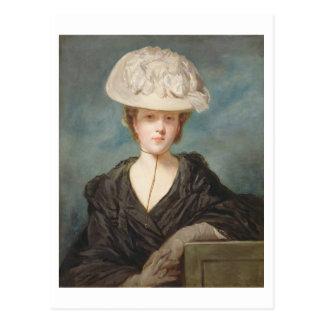 Miss Mary Hickey, 1770 (oil on canvas) Postcard