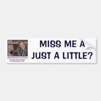 miss-me-a-little-eps car bumper sticker