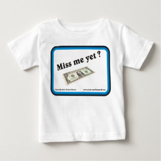 Miss Me con todo billete de dólar T Shirt