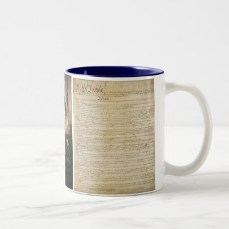 Miss Me Product Lines Two-Tone Coffee Mug
