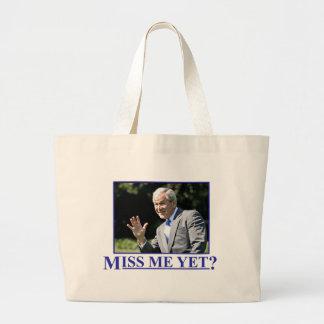 ¿Miss Me todavía? Bolsa Lienzo