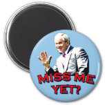 ¿Miss Me todavía? Camiseta de George W Bush Iman De Nevera