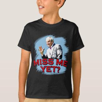 ¿Miss Me todavía? Camiseta de George W Bush Polera
