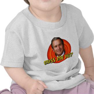 ¿Miss Me todavía? Camiseta del niño de George W
