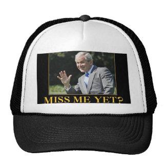 ¿Miss Me todavía? George W. Bush Gorras De Camionero