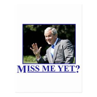 ¿Miss Me todavía? Postal