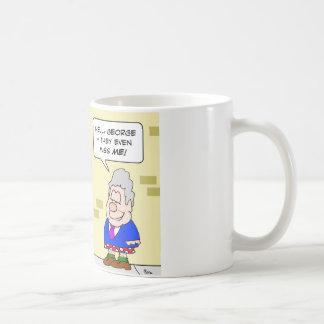 miss me yet clinton bush obama coffee mug
