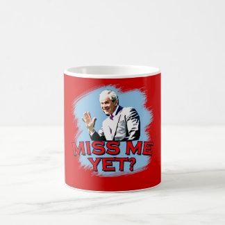 Miss Me Yet? George W Bush Tshirt Classic White Coffee Mug