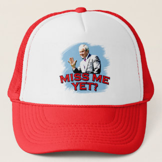 Miss Me Yet? George W Bush Tshirt Trucker Hat