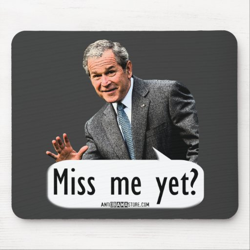 Miss me yet? mousepads