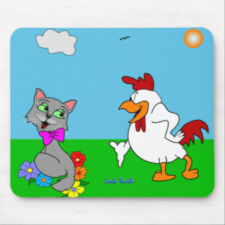 Miss Molly & Chicken Charly Mouse Pad