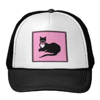 Miss Molly Pink Dot Trucker Hat