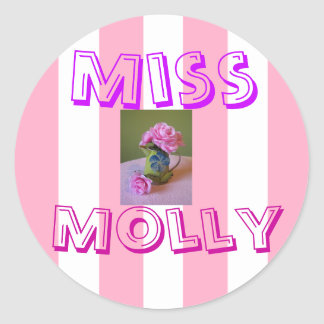 Miss Molly Stickers