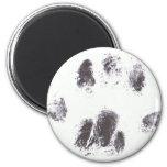 Miss Moo Paw Print Fridge Magnets