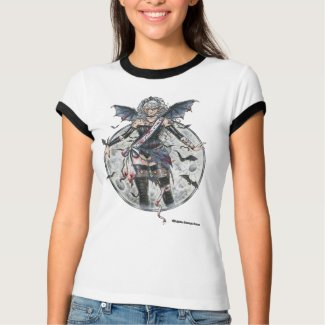 Miss Moon Gothic Shirt shirt