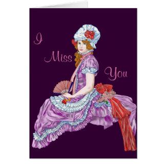 Miss Muffet Card