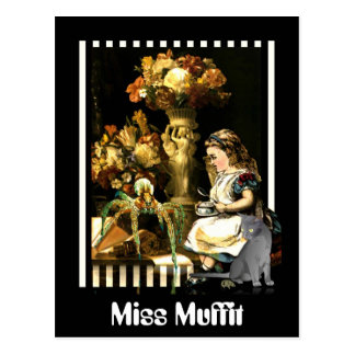 Miss Muffit Postcard