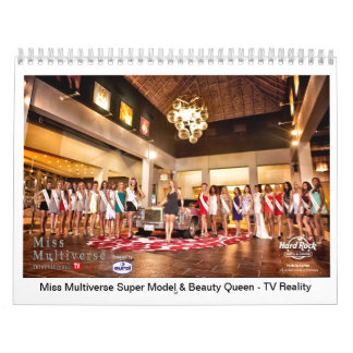 Miss Multiverse Model & Beauty Queen 2014 Calendar