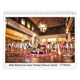 Miss Multiverse Model & Beauty Queen 2014 Calendar