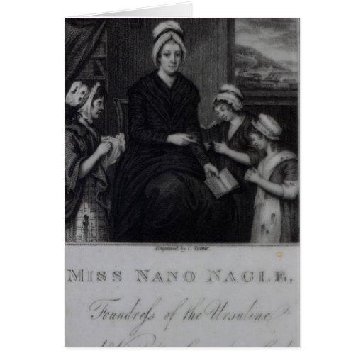 Miss Nano Nagle, 1809 Greeting Card