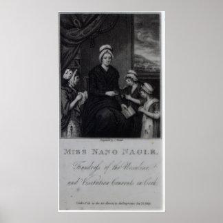 Miss Nano Nagle 1809 Poster