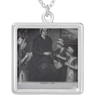 Miss Nano Nagle, 1809 Silver Plated Necklace