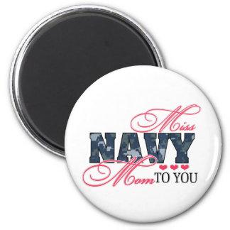 Miss Navy Mom Magnets