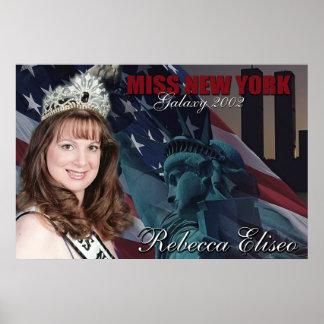 Miss New York Galaxy 2002 Poster