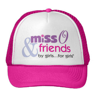Miss O and Friends Trucker Hat